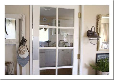 swinging kitchen doors swinging kitchen door for the home pinterest
