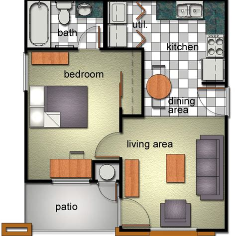 rooms floor plans seabury graduate housing division of student affairs northwestern bobcat village department of housing and residential