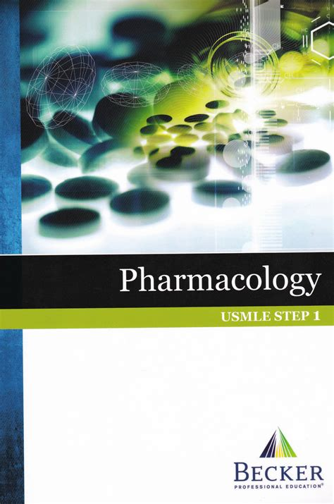 Pdf Review Pharmacology Second Gleason by Becker Usmle Step 1 Pharmacology Pdf