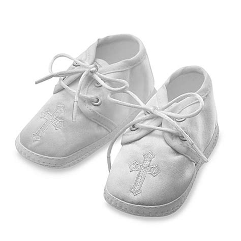 baptism shoes for boy s christening shoes with embroidered cross by