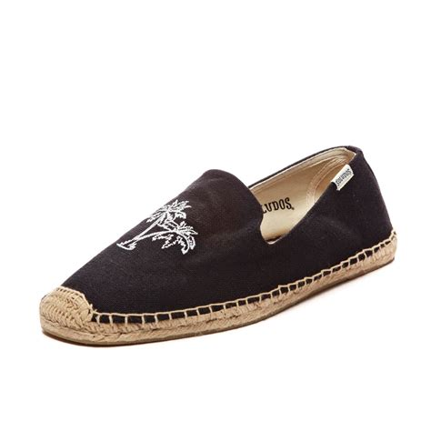 smoker slippers lyst soludos mens slipper embroidery in black