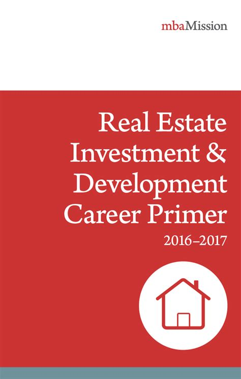 Real Estate Development Mba Programs by Mba Application Consulting Resources