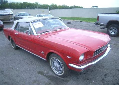 1965 mustang convertible project for sale mustangs project cars for sale