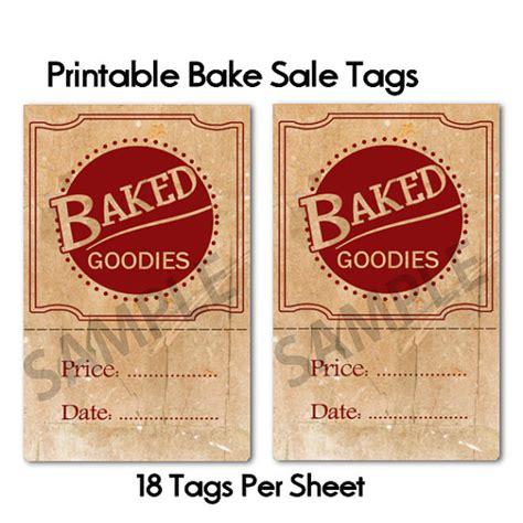 printable sale tags free printable bake sale party invitations ideas