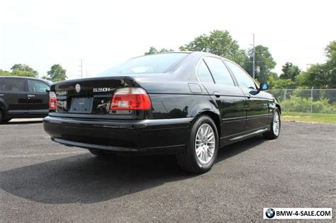 2003 bmw 530i 2003 bmw 5 series 2003 bmw 530i sport sedan e39 for sale
