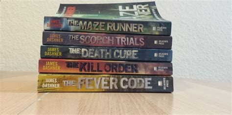The Maze Runner Series guest review by on the maze runner series
