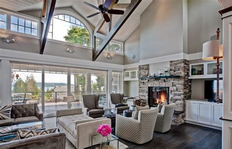 grey paint colors family room traditional with exposed trusses great room beeyoutifullife