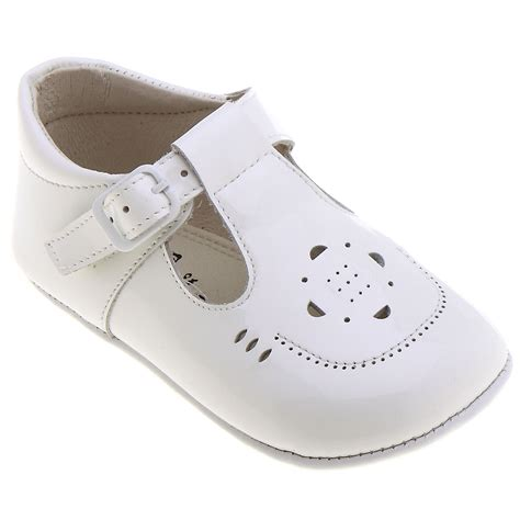 white shoes for baby t bar baby boys white pram shoes cachet