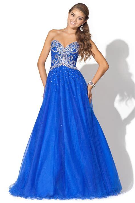Blue Prom Dresses   Dressed Up Girl
