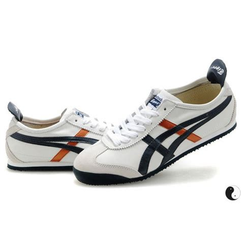 Po Limited Onitsuka Tiger Mexico 66 Leather Gold Gold mens asics onitsuka tiger