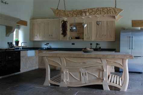 Handmade Kitchen Island - handmade bespoke kitchen decoholic
