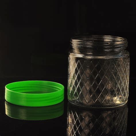 wholesale glass wholesale glass candle jar with cover glass candle jar