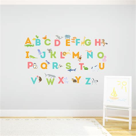 alphabet wall sticker letter wall decals vinyl monogram decal custom name and initial wall decal custom doodle