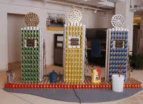 Canned Food Sculpture Ideas 272 best images about canned art on pinterest food bank