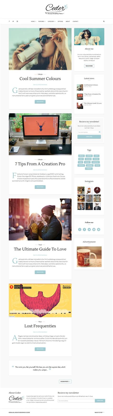 theme ref blog 1000 images about wordpress blog and magazine themes on
