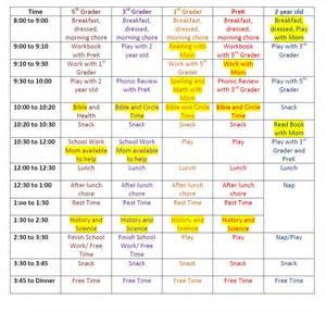 home schedule large family homeschool schedule janelle knutson