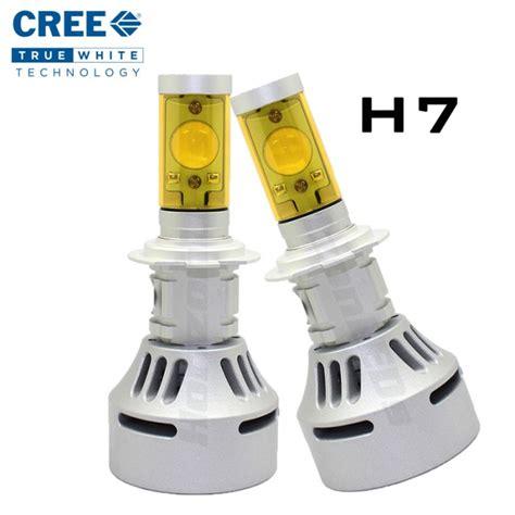 Led Cree H7 h7 generation 2 cree led headlight kit version 2