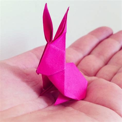 Bastelideen Ostern Mit Papier by Origami Hase Falten Anleitung Und Inspirierende