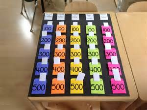 reference book makers jeopardy just finished my reusable jeopardy board pockets made