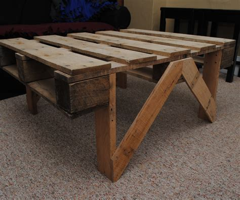 coffee table out of pallets pallet coffee table all