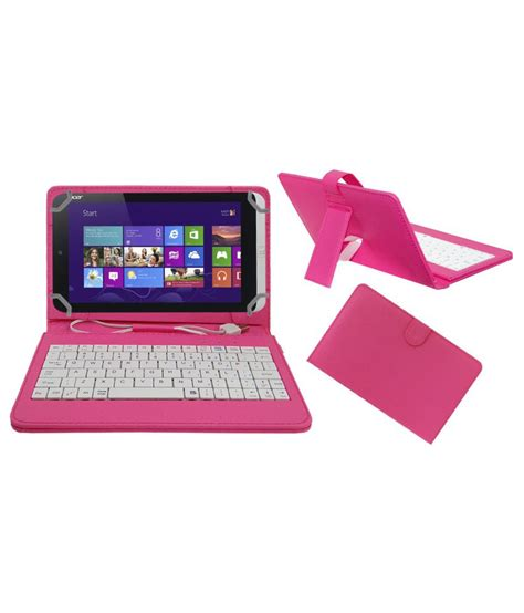Keyboard Tab Acer acm premium usb keyboard tablet cover for acer iconia w3 810 with free micro usb otg pink