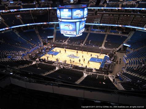 section 321 cbp amway center section 207 orlando magic rateyourseats com
