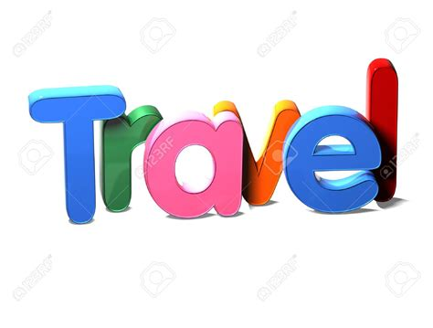 clipart word travel clipart the word pencil and in color travel