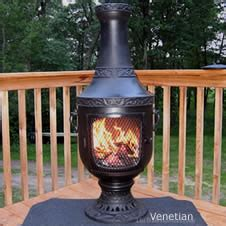 chiminea outdoor fireplace chimenea firepit chimineas