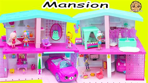 cookie swirl c dollhouse shopkins shoppies happy places house mansion with