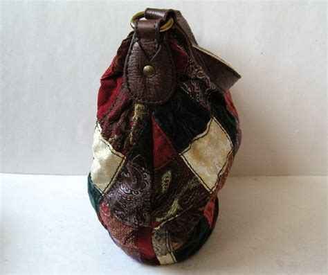 Lucky Brand Patchwork Hobo - closet lucky brand leather patchwork hobo handbag