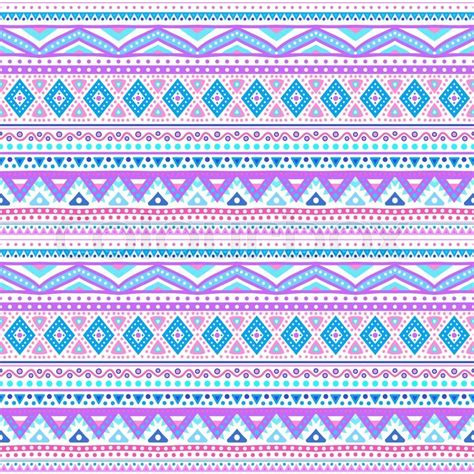 tribal pattern blue and pink tribal ethnic seamless stripe pattern vector illustration