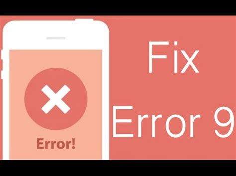 how to fix itunes error 9 on iphone or complete the restore process
