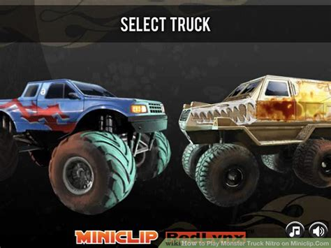 miniclip truck nitro 2 how to play truck nitro on miniclip com 6 steps