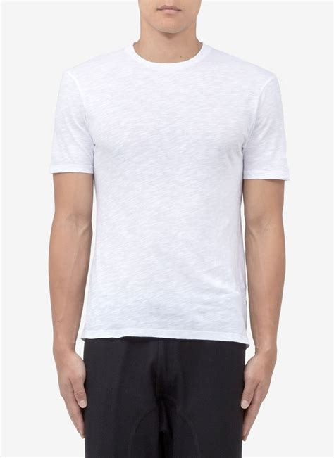 Panel Shirt neil barrett printed panel cotton t shirt in white for lyst