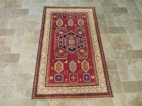 3x5 rug size burgundy 3x5 wool rug woven kazak rug genuine carpet ebay