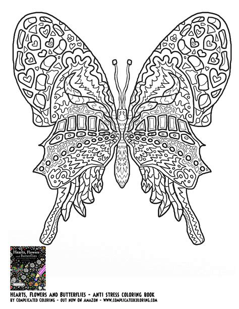 complicated coloring pages for adults coloring pages