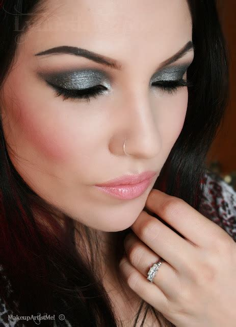 Fall Makeup Trends Gray Shadow 3 by Make Up Artist Me Gray Fall Sky Makeup Tutorial 2013
