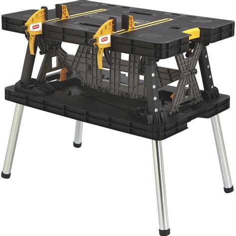 keter portable work table free shipping keter folding work table 33 1 2in l x 21