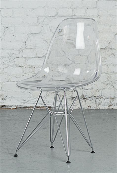 transparent eames eiffel side chair replica r 233 tro