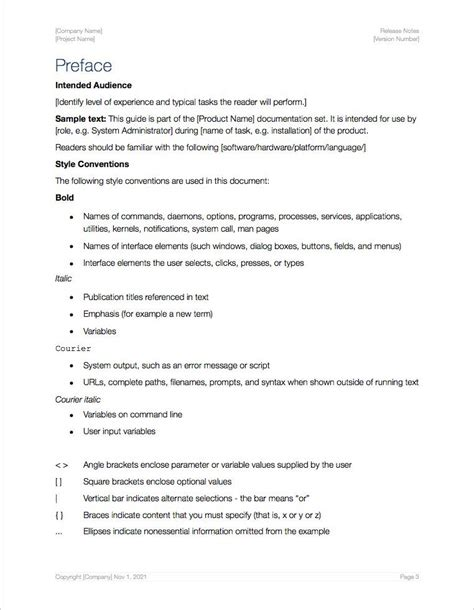 software release notes template doc release notes template apple iwork pages numbers