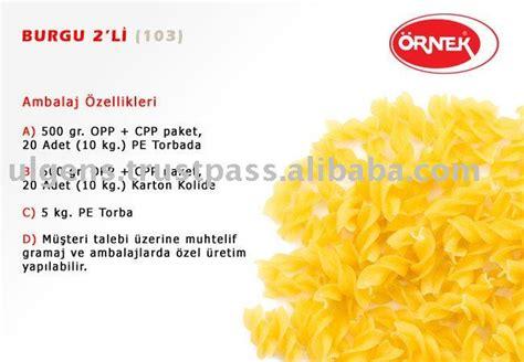 pasta macaroni 100 durum wheat semolina spirali