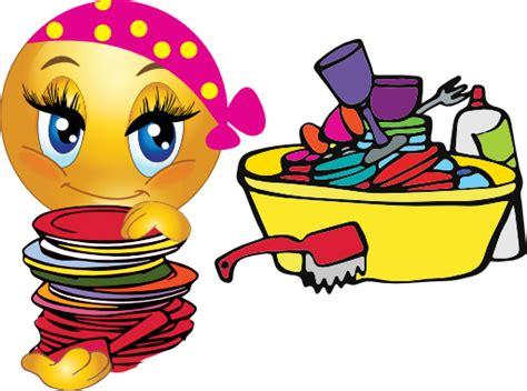 cleaning emoji scrub a dub the dishes symbols emoticons