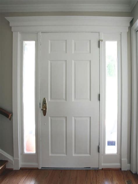 Trim Interior Door 25 Best Ideas About Interior Door Trim On Interior Door White Interior Doors And