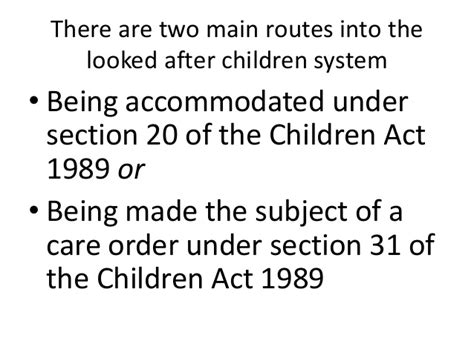 Section 20 Children Act Explained 28 Images Gender