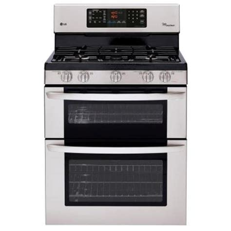 lg electronics 6 1 cu ft oven gas range with