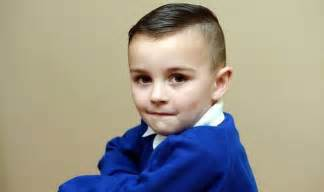 three year haircuts three year old s short hair leads to school ban uk