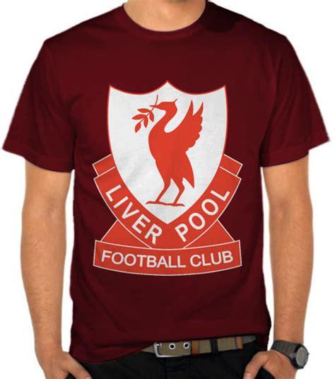 Kaos Combed 24s Liverpool jual kaos liverpool fc 1980s logo liga inggris satubaju