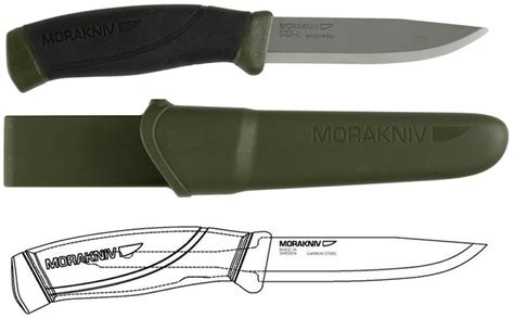 mora companion knife the mora companion a fixed blade knife for any budget