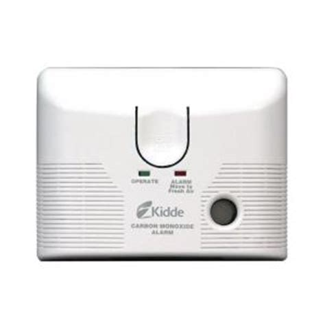 kidde in carbon monoxide alarm with battery backup kn