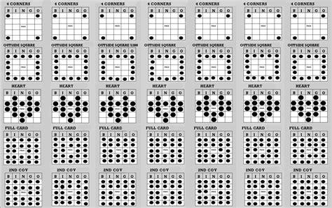 bingo pattern exles how to play bingo online clickhowto